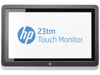 "HP Pavilion 23tm 23"" 1920 x 1080Pixel Da tavolo Nero, Argento monitor touch screen"