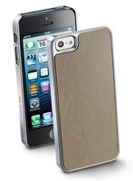 Cellularline JACKCIPHONE5BE Cover Marrone custodia per cellulare