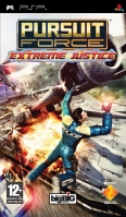 Sony Pursuit Force: Extreme Justice PlayStation Portatile (PSP) Tedesca videogioco