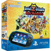 "Sony PS Vita WiFi + Invizimals: The Alliance 5"" Touch screen Wi-Fi Nero console da gioco portatile"