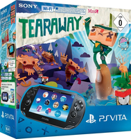 "Sony PlayStation Vita Wi-Fi + Tearaway 5"" Touch screen Wi-Fi Nero console da gioco portatile"