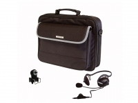 "NGS Leader Kit Notebook Bag 15.4"" Borsa da corriere Nero"