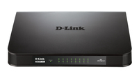 D-Link GO-SW-16G No gestito Gigabit Ethernet (10/100/1000) Nero switch di rete