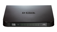 D-Link GO-SW-24G No gestito Gigabit Ethernet (10/100/1000) Nero switch di rete