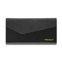 Macally WALLETP6-B Custodia a libro Nero custodia per cellulare