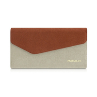 Macally WALLETP6-O Custodia a libro Marrone custodia per cellulare
