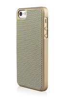 Macally WEAVEP5S-GO Cover Oro custodia per cellulare