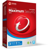 Trend Micro Titanium Maximum Security 2014, 1Y, 3u, ML 3utente(i) 1anno/i Multilingua