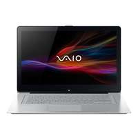 "Sony VAIO Fit 1.8GHz i7-4500U 13.3"" 1920 x 1080Pixel Touch screen Argento Computer portatile"