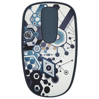 Logitech Zone Touch T400 RF Wireless Ottico Ambidestro Multicolore mouse