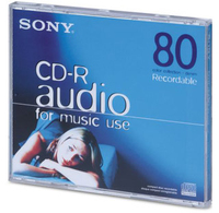 Sony CRM80CRL CD vergine