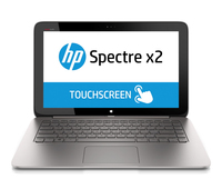 "HP Spectre x2 13-h200ed 1.6GHz i5-4202Y 13.3"" 1920 x 1080Pixel Touch screen 3G Marrone, Argento Computer portatile"