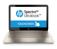 "HP Spectre 13 13-3000ed 1.8GHz i7-4500U 13.3"" 2560 x 1440Pixel Touch screen Marrone, Argento Computer portatile"