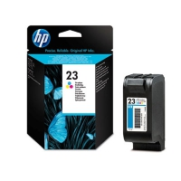 HP 23 Tri-colour Ciano, Giallo cartuccia d