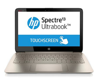 "HP Spectre 13 13-3000eo 1.6GHz i5-4200U 13.3"" 2560 x 1440Pixel Touch screen Marrone, Argento Computer portatile"