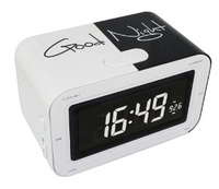 Bigben Interactive RR30 Good Night Orologio Nero, Bianco radio