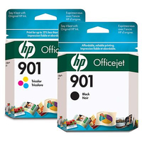 HP 901 Tri-color Original Ink Cartridge cartuccia d