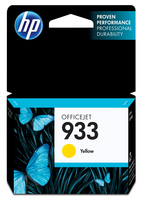 HP 933 Yellow Giallo cartuccia d