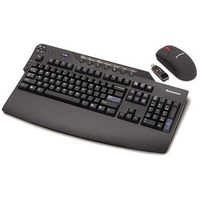 Lenovo 89P8730 RF Wireless QWERTY Inglese Nero tastiera