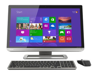 "Toshiba PX30t-00V 2.4GHz i7-4700MQ 23"" 1920 x 1080Pixel Touch screen Nero, Argento PC All-in-one"