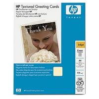 HP Textured Cream Half-fold Greeting Cards 175 g/m²-A4/210 x 297 mm/20 cards