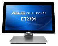 "ASUS ET ET2301INTH-B043K 3.1GHz i7-4770S 23"" 1920 x 1080Pixel Touch screen Nero, Argento PC All-in-one All-in-One PC"
