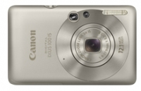 "Canon Digital IXUS 100 IS Fotocamera compatta 12.1MP 1/2.3"" CCD 4000 x 3000Pixel Argento"
