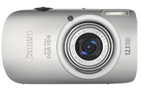"Canon Digital IXUS 110 IS 12.1MP 1/2.3"" CCD 4000 x 3000Pixel Argento"