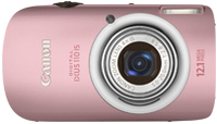 "Canon Digital IXUS 110 IS 12.1MP 1/2.3"" CCD 4000 x 3000Pixel Rosa"