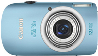 "Canon Digital IXUS 110 IS 12.1MP 1/2.3"" CCD 4000 x 3000Pixel Blu"