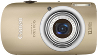 "Canon Digital IXUS 110 IS 12.1MP 1/2.3"" CCD 4000 x 3000Pixel Oro"
