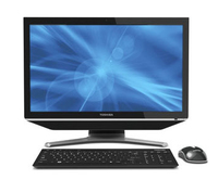 "Toshiba DX730-01L 2.5GHz i5-2450M 23"" 1920 x 1080Pixel Touch screen Nero All-in-One workstation"