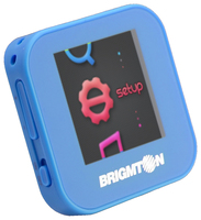 Brigmton BPA-40-A MP4 4GB Blu lettore e registratore MP3/MP4