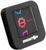 Brigmton BPA-40-N MP4 4GB Nero lettore e registratore MP3/MP4