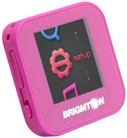 Brigmton BPA-40-R MP4 4GB Rosa lettore e registratore MP3/MP4