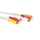 Intronics Audio + Video cable 3x Cinch M - 3x Cinch M 5.0m 5m cavo video composito