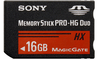 Sony Memory Stick PRO-HG Duo HX 16GB 16GB memoria flash