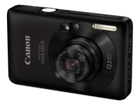 Canon Digital IXUS 100 IS Fotocamera compatta 12.1MP CCD 4000 x 3000Pixel Nero