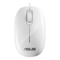 ASUS Eee Box Optical Mouse USB Ottico 1000DPI Bianco mouse