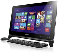 "Lenovo IdeaCentre B550 3.1GHz i5-4440 23"" 1920 x 1080Pixel Touch screen Nero PC All-in-one"