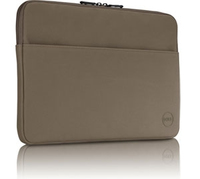 "DELL 325-BBDD 17"" Custodia a tasca Marrone chiaro borsa per notebook"