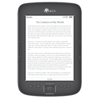 "Icarus Illumina HD 6"" Touch screen 4GB Wi-Fi Nero lettore e-book"