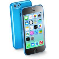 CUSTODIA PER APPLE IPHONE 5C RIGIDA CELLULAR LINE BOOSTIPH5CB BLUE