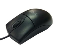 Dell Wyse 770510-21L PS/2 Ottico Ambidestro Nero mouse