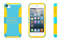 Macally TANKT5BL Cover Blu, Giallo custodia MP3/MP4