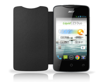 Acer Flip Case Black for Liquid Z3 Duo