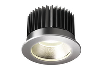 Toshiba LEDEUD00062S40 Interno Recessed lighting spot 18W Argento faretto di illuminazione