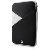 "HP 25.65 cm (10"") Zippered Tablet Sleeve 10"" Custodia a tasca Nero, Bianco"