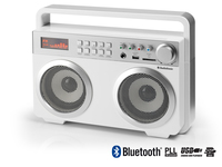 AudioSonic RD-1559 Portatile Bianco radio