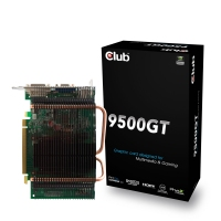 CLUB3D Geforce 9500GT, HDMI, Passive Heatpipe GeForce 9500 GT GDDR2